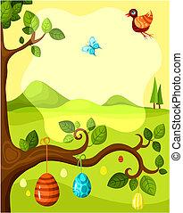 húsvét, kártya