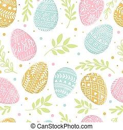 húsvét, kéz, színes, ikra, háttér, húzott