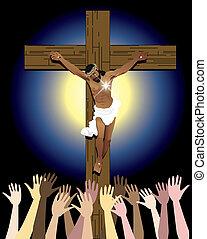 húsvét, krisztus, erő, jézus