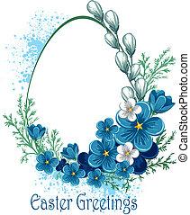 húsvét, menstruáció, transzparens, eredet