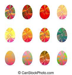 húsvét, white ikra, állhatatos, háttér, elszigetelt