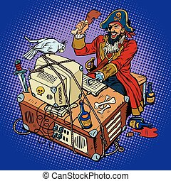 hacker, szabadalombitorlás, kapitány, szoftver
