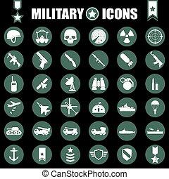 hadi, állhatatos, ikonok