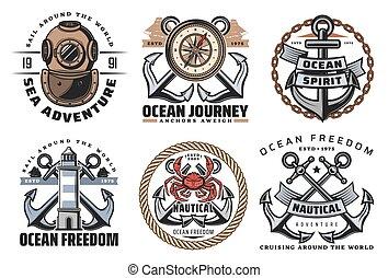 haditengerészet, elnevezés, szüret, tengeri