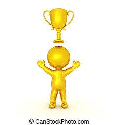 hadizsákmány, arany-, arany, betű, felül, őt, 3