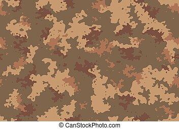 hadsereg, pattern., seamless, wallpaper., szerkezet, szín, vektor, tervezés, álcáz, barna, vadászat, háttér., nyomtat, halászat, klasszikus, álcázás, camo, hadi, sárga, struktúra, nyersgyapjúszínű bezs