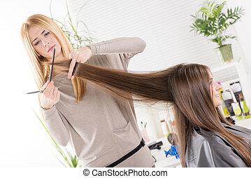 hairdresser's.