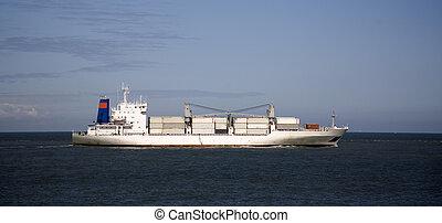 hajó, 1, rakomány