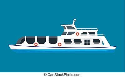 hajó cruise, óceán