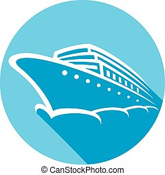 hajó cruise, ikon, lakás