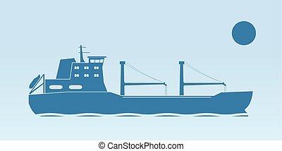 hajó, ipari