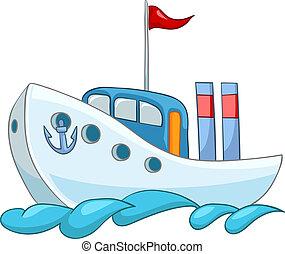 hajó, karikatúra