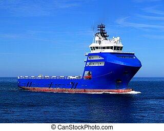 hajó, l, part felől, beszerzés