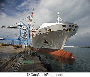 hajó, rakomány