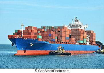 hajó tároló, kazal, rakomány