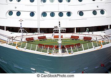 hajó vonó, cirkálás