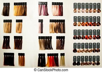 haj, befest, paletta, dye., különböző