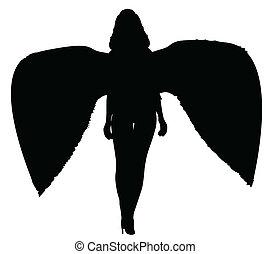 halál, árnykép, angyal