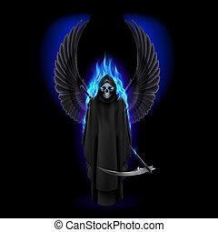 halál, angyal