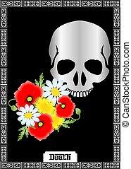 halál, kártya