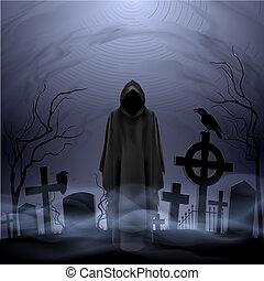 halál, temető, angyal