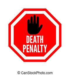halálbüntetés, abbahagy, jelkép