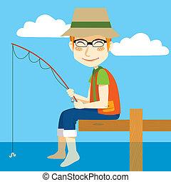 halász, boldog