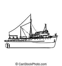 halászhajó