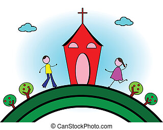 haladó, templom