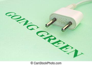 haladó, zöld