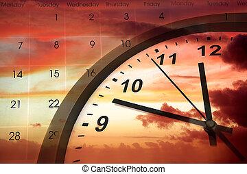 halad időmérés