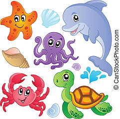 halfajták, 3, állatok, tenger, gyűjtés