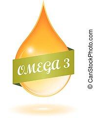 haloaj, omega 3, ikon