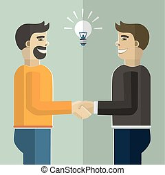 handshake., ügy