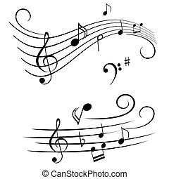hangjegy, bever, zenés