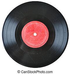hanglemez, öreg, vinyl