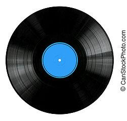 hanglemez, piros, vinyl, címke