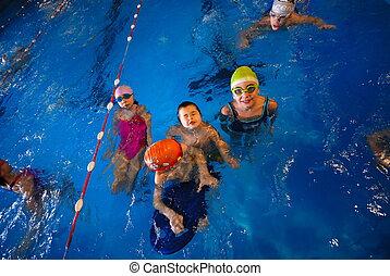 .happy, úszó