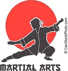 harcművészetek, ábra, jel
