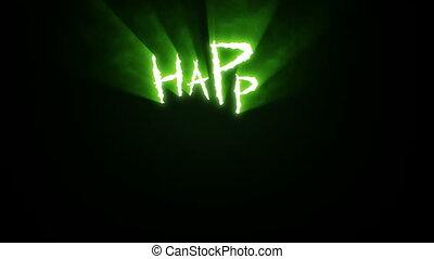 hasíték, karom, mindenszentek napjának előestéje, zöld, boldog