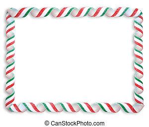 határ, karácsony, cukorka