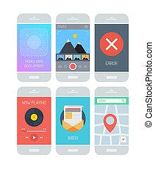 határfelület, alkalmazás, smartphone, alapismeretek