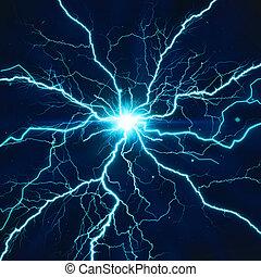 hatás, háttér, elvont, -e, techno, világítás, átmérő, elektromos