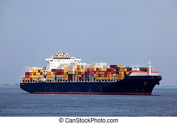 hatalmas, hajó tároló