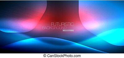 hatszög, neon, háttér