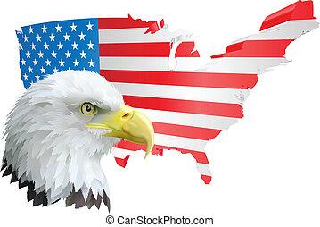 hazafias, sas, american lobogó