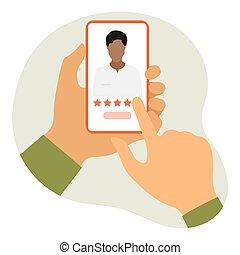 healthcare, értékelés, online orvos, szolgáltatás, orvosi