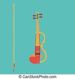 hegedű, elektromos