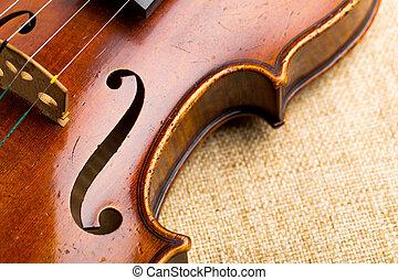 hegedű, feláll sűrű
