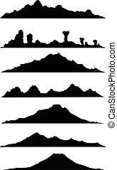 hegy, árnykép, gyűjtés